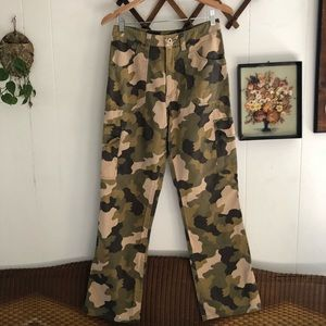 90's Military Style Cargo Pants